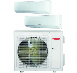 TOSOT LOMO 23 MULTI-ZONE HEAT PUMP SYSTEM -20C