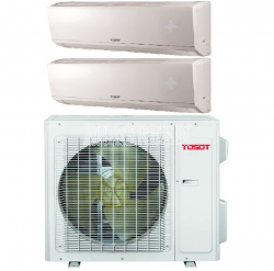 TOSOT LOMO PLUS ULTRA HEAT MULTI-ZONE HEAT PUMP SYSTEM -30C